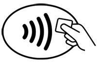 Touchless payment Icon