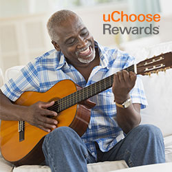 UChoose Rewards Man Playing Guitar