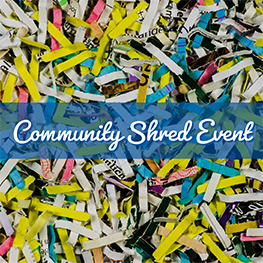 Community Shred Event SECNY Federal Credit Union FCU Syracuse NY