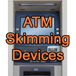 Be Aware of ATM Skimming Devices